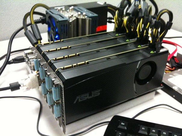 Afbeelding van SLI en Crossfire en het combineren van meerdere videokaarten