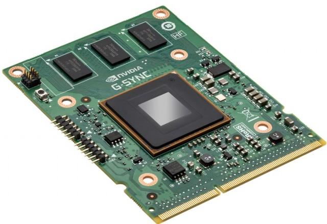 monitoren hebben een chip nodig om g-sync te kunnen gebruiken.