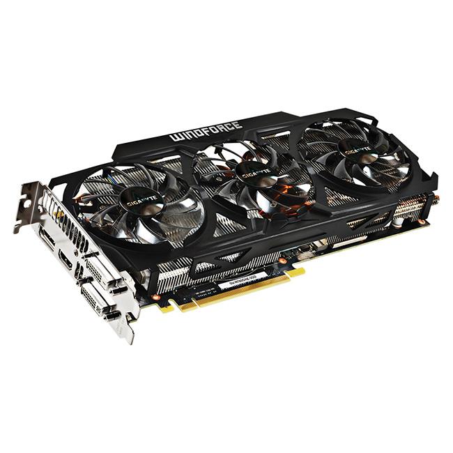 afbeelding van de gigabyte windoforce 3x custom koeler