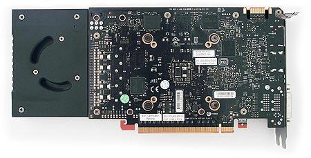 afbeelding van de binnenkant van de gtx 660 Ti videokaart