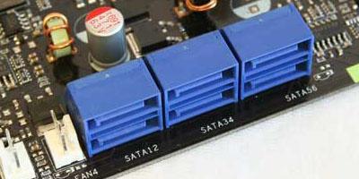 afbeelding van de sata connector