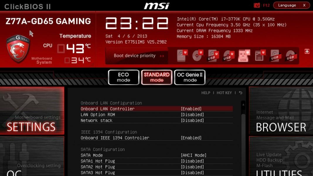 Msi Fast Boot Update