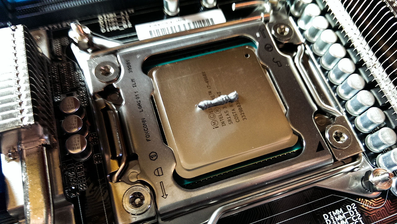 How To Apply Thermal Paste Or Thermal Grease Pcinside Info